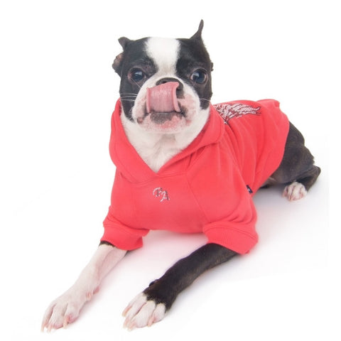 Red Wings Hoodie - Snooty Paws - 1