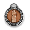 St Francis of Assisi Pet Medallion/Tag (Small - 19mm) - Snooty Paws - 2