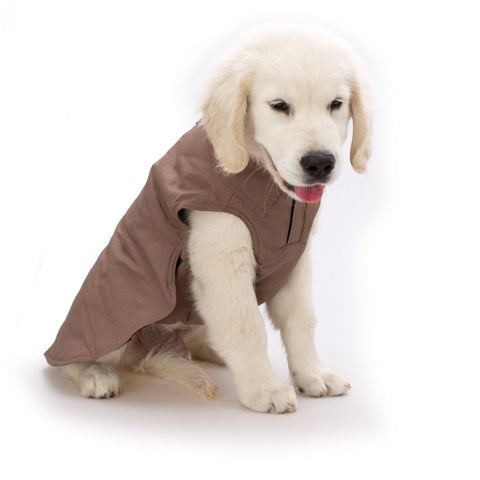 Earthy Brown All Weather Coat - Snooty Paws - 1