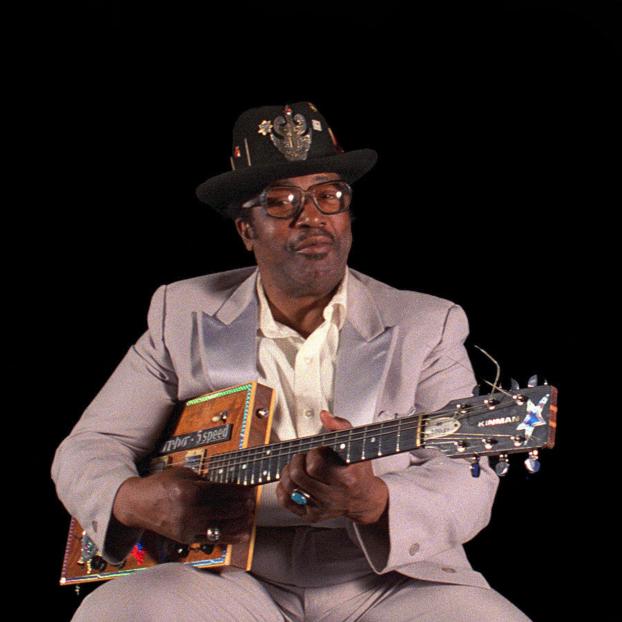 Bo Diddley Portrait in 3D