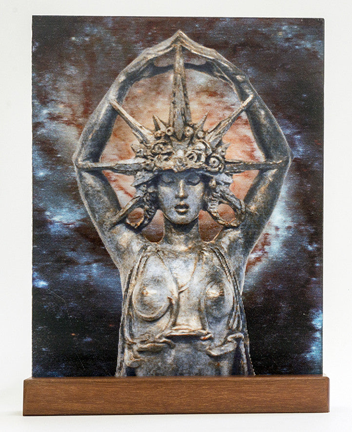 """Star Maiden"" in 3D by Alexander Stirling Calder"