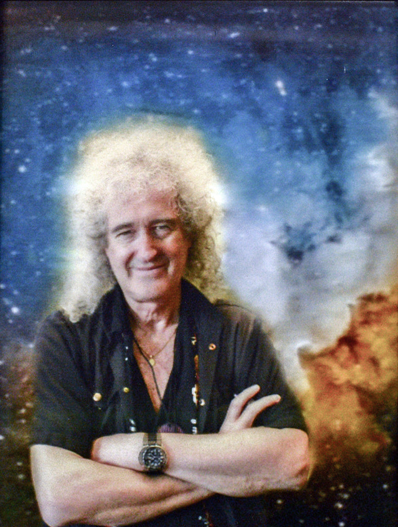 Dr. Brian May: Portrait in 3D