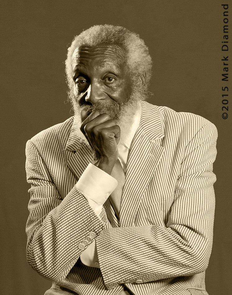 Dick Gregory 3D Portrait