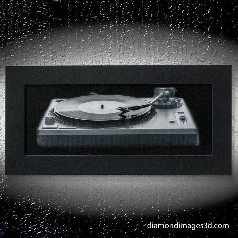 Tracking #1 Classic Technics Turntable In 3D