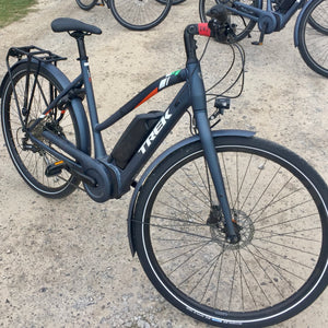 Trek UM3+ Step Thru Hybrid E-bike 2019 - Ex-Hire