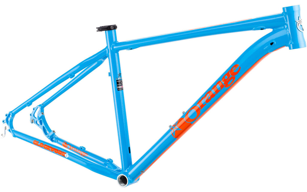 Orange Clockwork120 Frameset - SALE PRICE £269