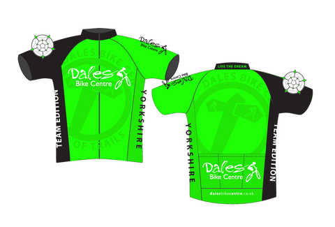 Dales Bike Centre - Mountain Bike Riding Jersey