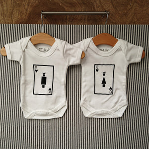 King & Queen Baby Grows