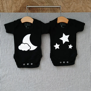 Moon & Stars Baby Grows
