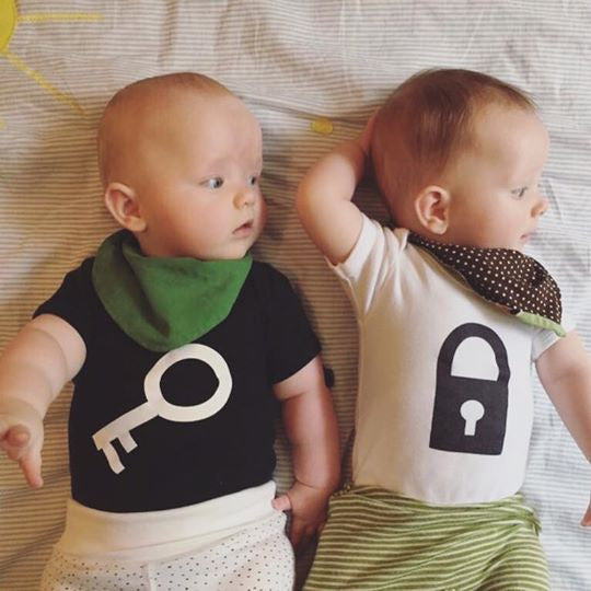 Lock & Key Baby Grows