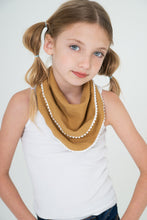 Set of 3 Pom-Pom Lace Scarf/Bib - Kids Clothing,  - Girls Dress, Yo Baby Online - Yo Baby