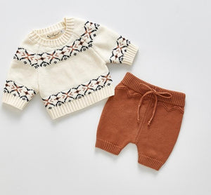 Limited Edition - Unisex Knitted Sweater & Pants Set