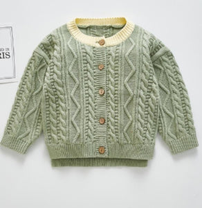 Limited Edition-Mint Unisex Knitted Sweater