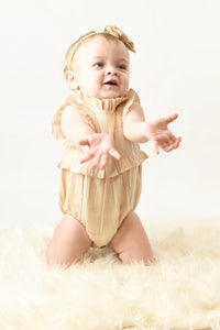 Blush Ruffles Infant Romper