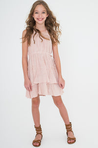 Blush Dress - Kids Clothing, Dress - Girls Dress, Yo Baby Online - Yo Baby