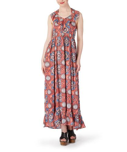 Kaleidoscope Inspired Maxi Dress
