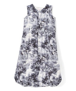 Grey Floral Sleeping Sack - Infant - Kids Clothing,  - Girls Dress, Yo Baby Online - Yo Baby