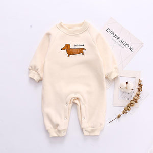 Infant Full Sleeves Winter Romper - Unisex