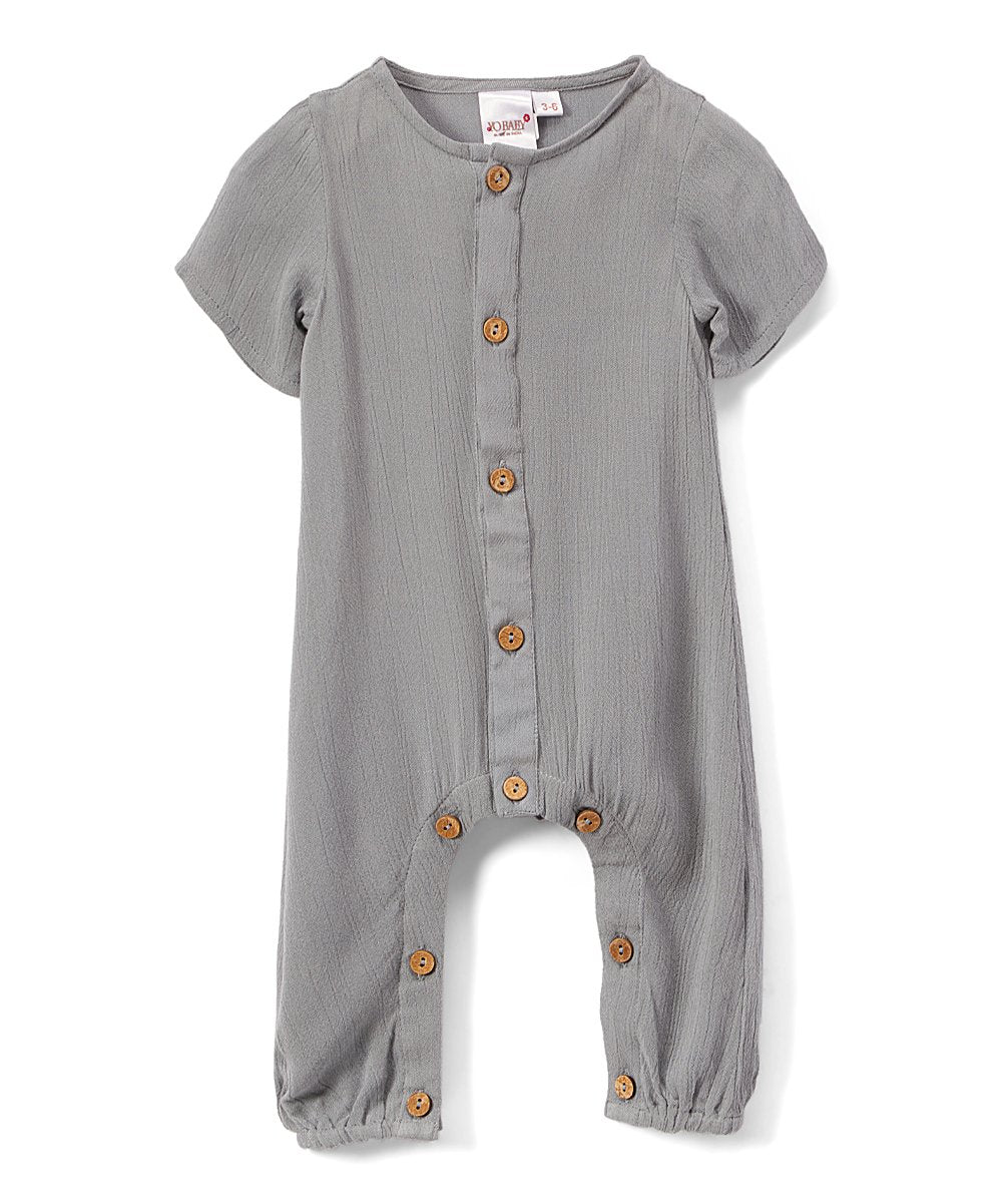 Boys Infant Half Sleeves Romper - Powder Blue