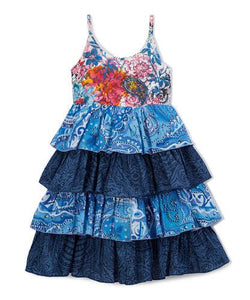 Blue Frill Dress