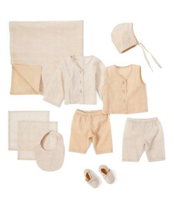 10pc. Neutral Layette Set - Kids Clothing, 10-pc. set - Girls Dress, Yo Baby Online - Yo Baby