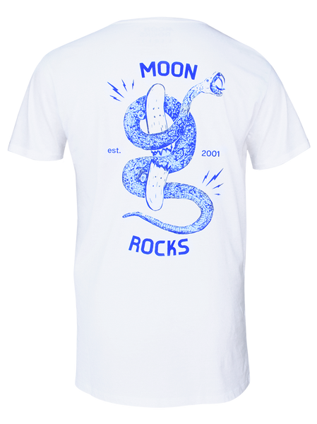 MAN T-SHIRT MOON SNAKE