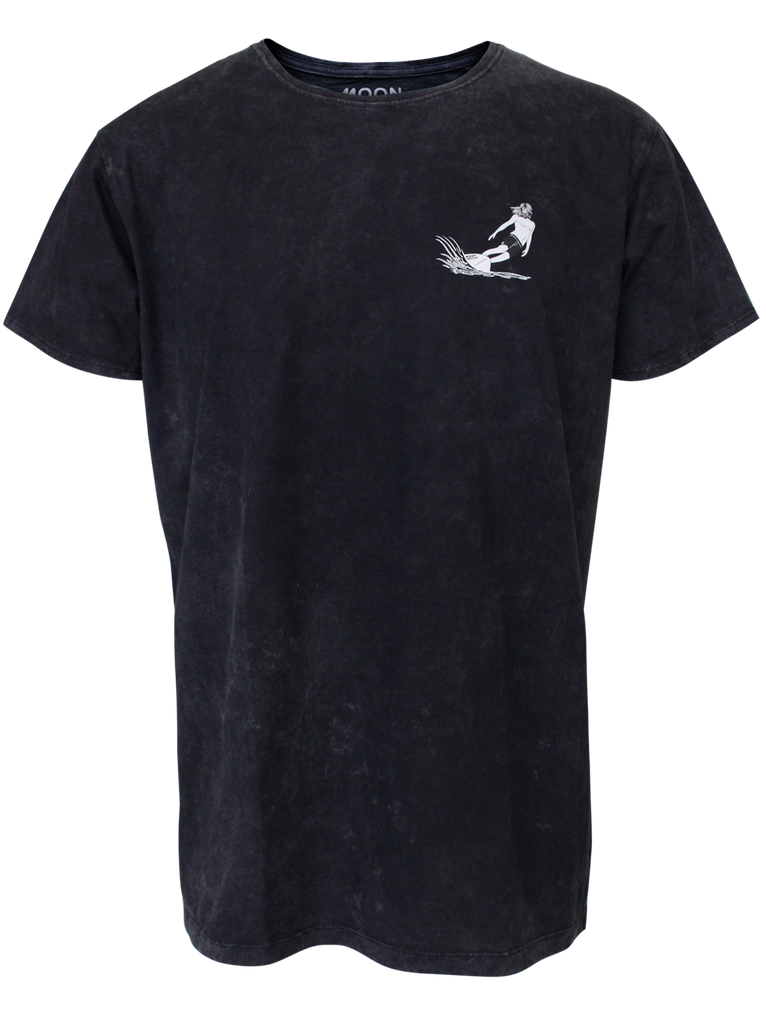 MEN T-SHIRT WASH 70'S SURFER