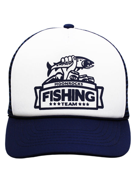Cap Fishing team blue & white