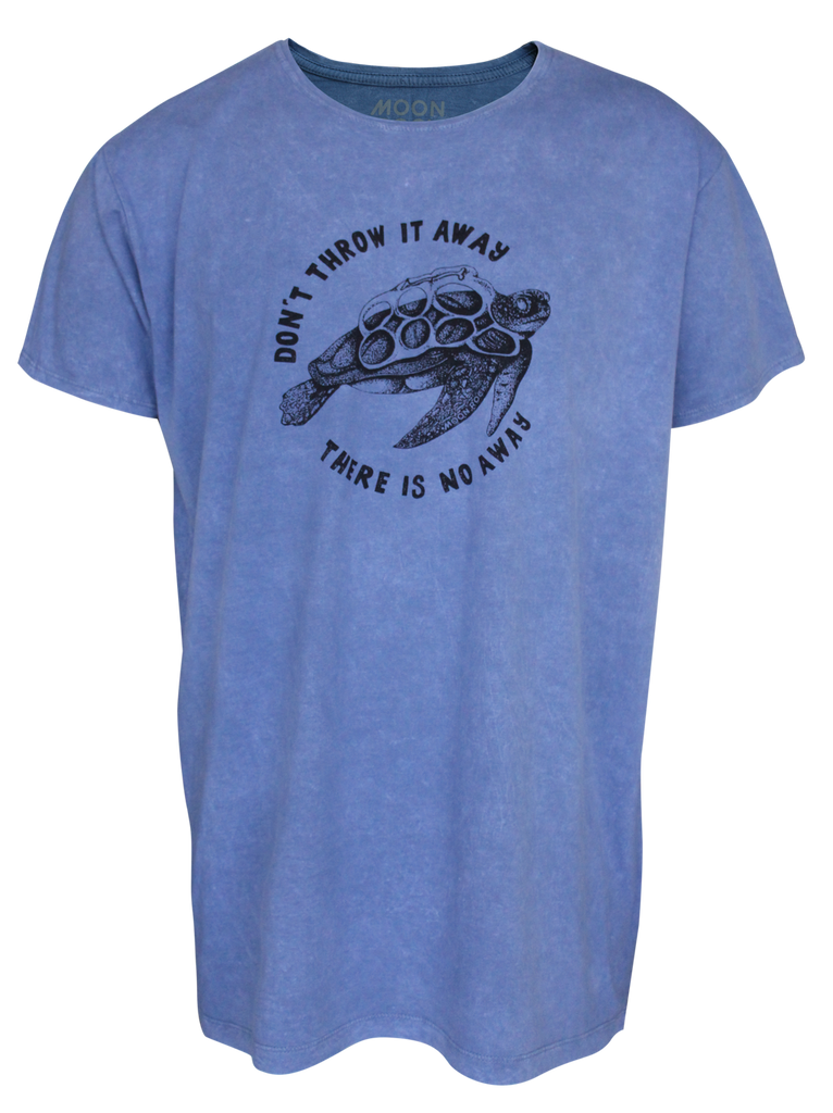 MEN T-SHIRT WASH TURTLE