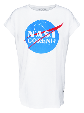 Women T-shirt Roll Nasa