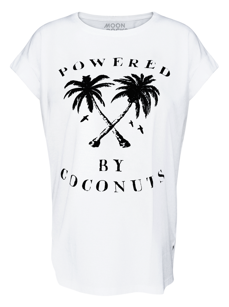Women T-shirt Coconut Power