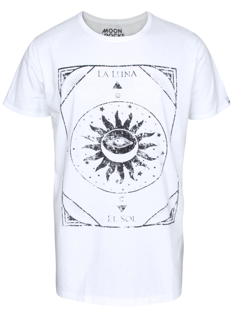 MAN T-SHIRT LA LUNA