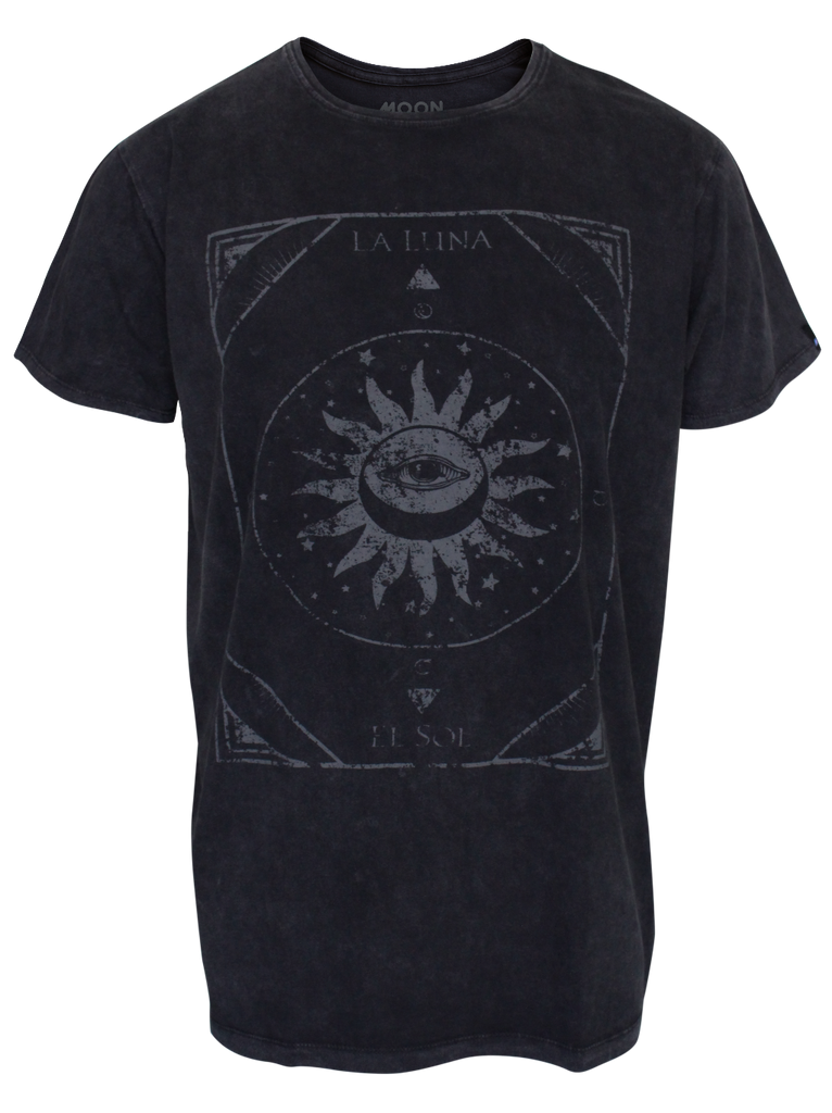 MEN T-SHIRT WASH LA LUNA