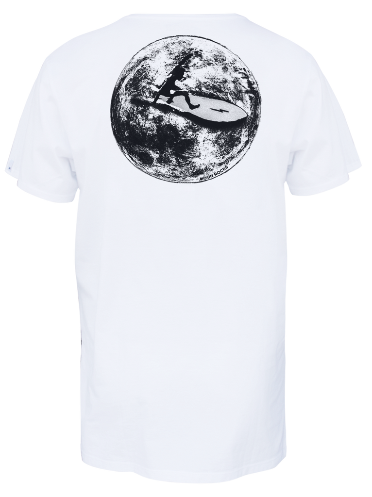 MEN T-SHIRT MOON RIDER
