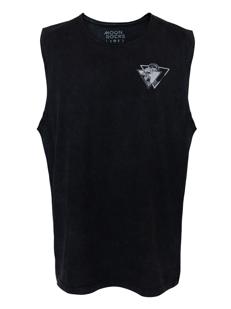MEN SINGLET WASH TRI WAVE