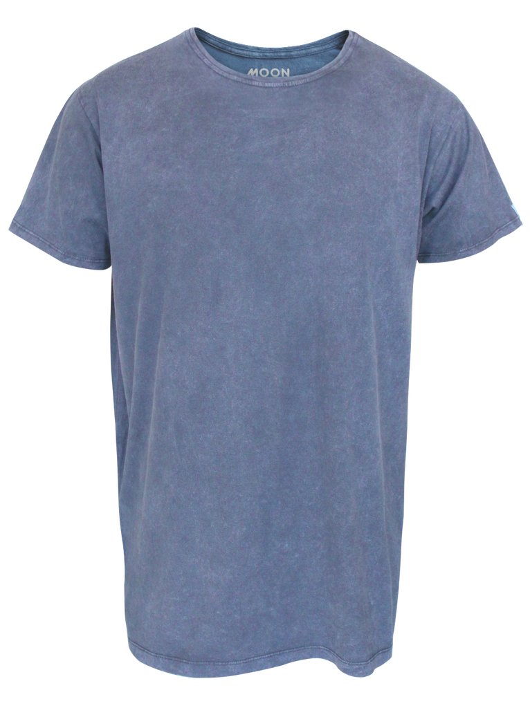 MEN T-SHIRT PLAIN WASH