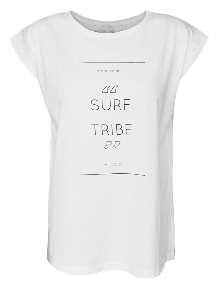 Women T-shirt Roll Surf Tribe