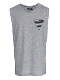 Men Singlet Pocket Tri. Misty