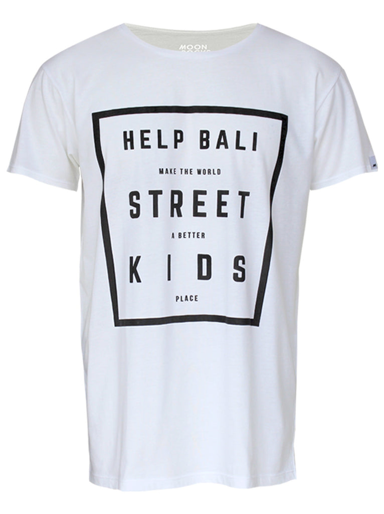 Men T-shirt Street Kids