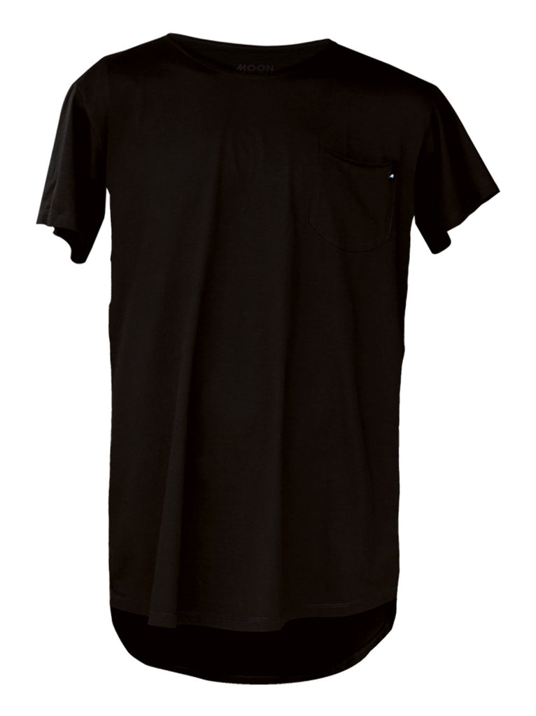 Men T-shirt Great Charcoal