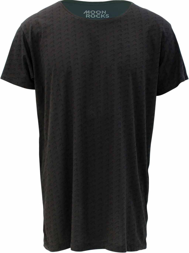 T.shirt Acid Wave charcoal