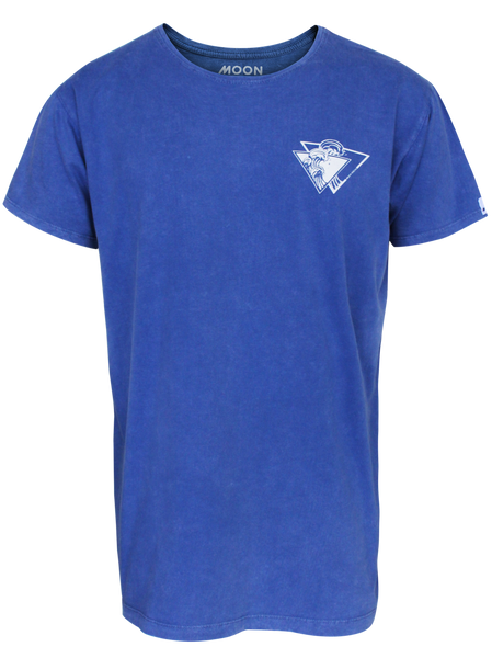 MEN T-SHIRT WASH TRI WAVE