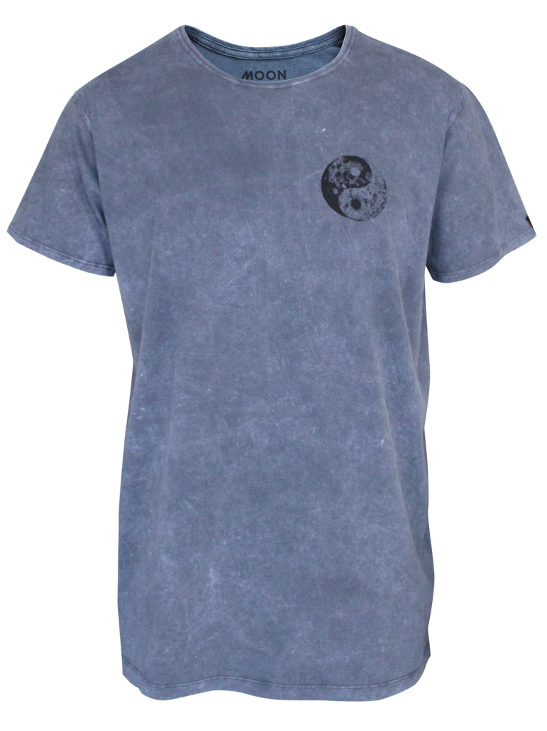 MEN T-SHIRT WASH YIN MOON