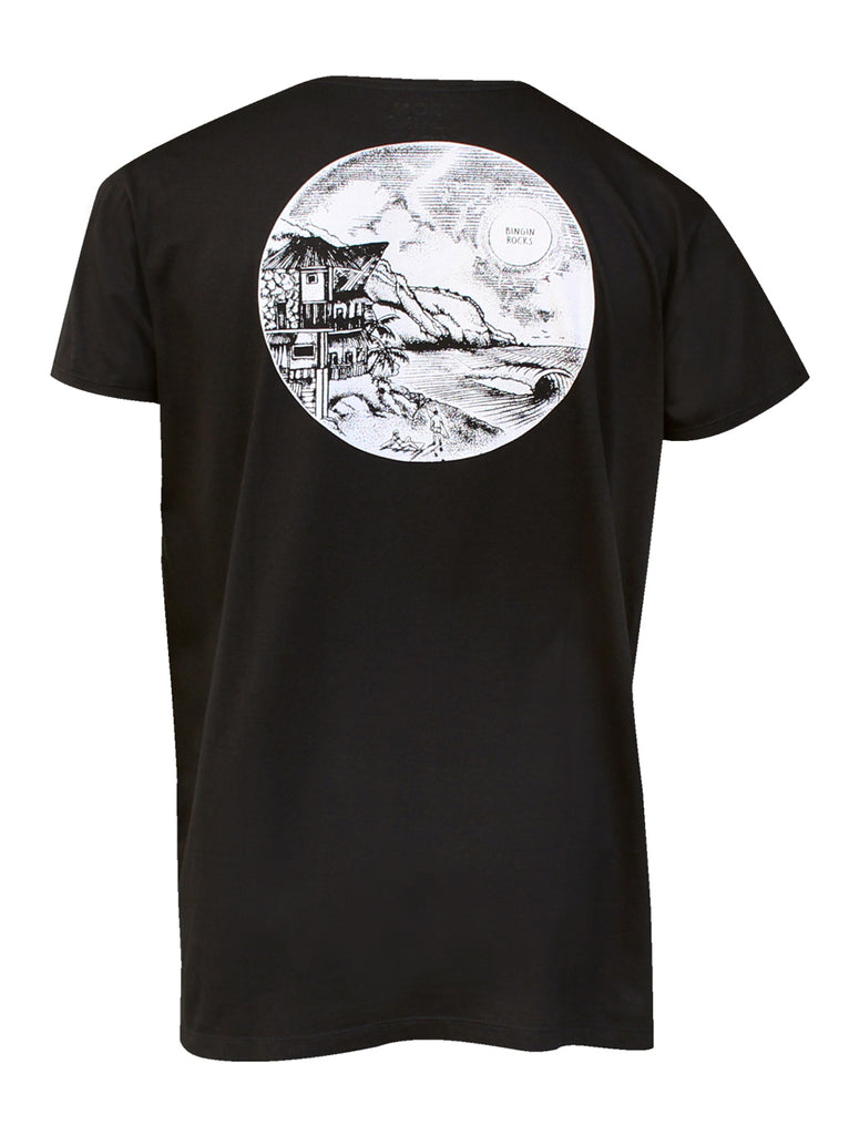 Men T-shirt Bingin Rocks