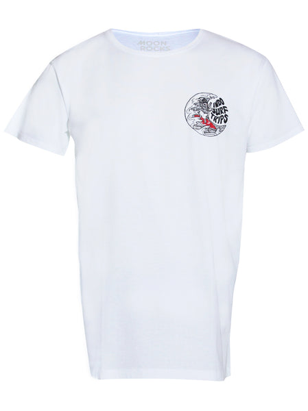 Men T-shirt Indo Surf Trips Small