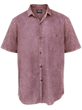 MEN SHIRT MARRON WASH CATT