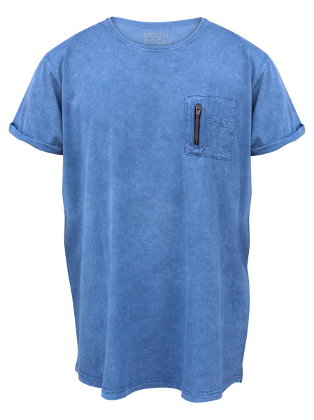 MEN T-SHIRT WASH POC ZIPP