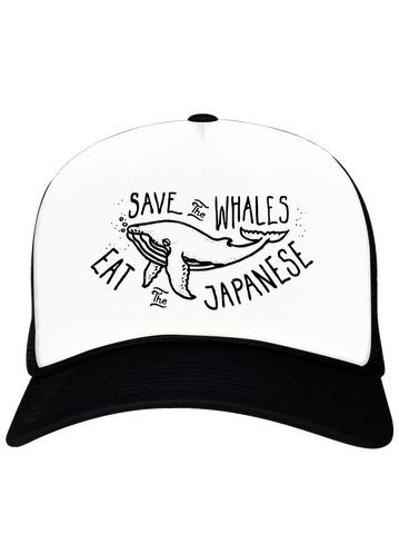 CAP TRUC SAVE THE WHALES