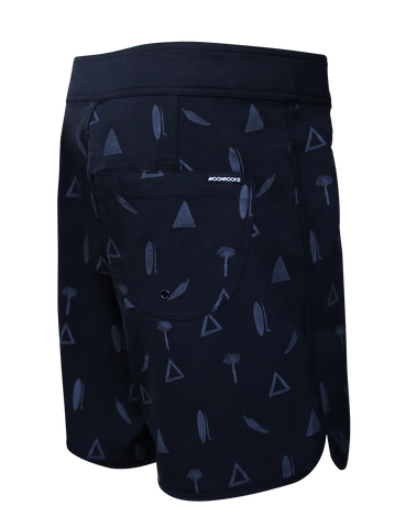 MEN BOARDSHORT SIMPLE TRIPI
