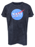 MEN T-SHIRT WASH NASA